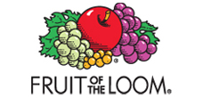 Fruit of the Loom tshirt blanks cotton ragged left print solutions