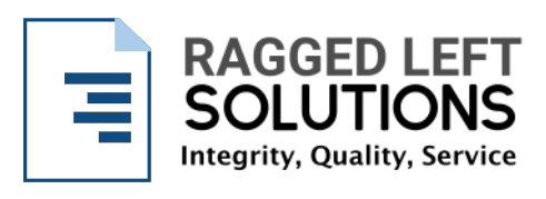 Ragged Left Print Solutions Shopify Partner
